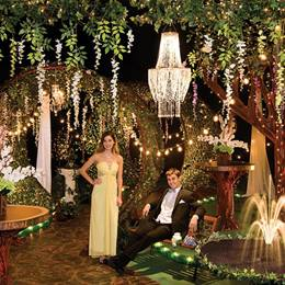 Garden of Glamour Complete Prom Theme