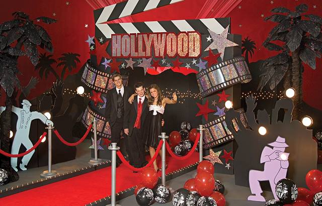 Night in the Spotlight Budget Prom Theme