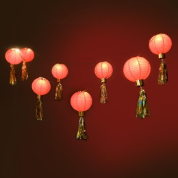 Heightened Fun Red Lanterns Kit (set of 2)