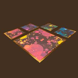 Get Your Disco On Floor Panels Kit (set of 4)