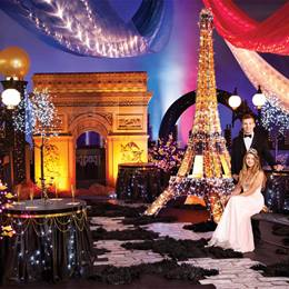 Paris: City of Lights Complete Prom Theme