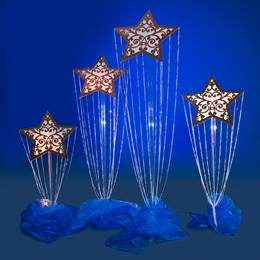 Cosmic Stardrop Stands Kit (set of 4)