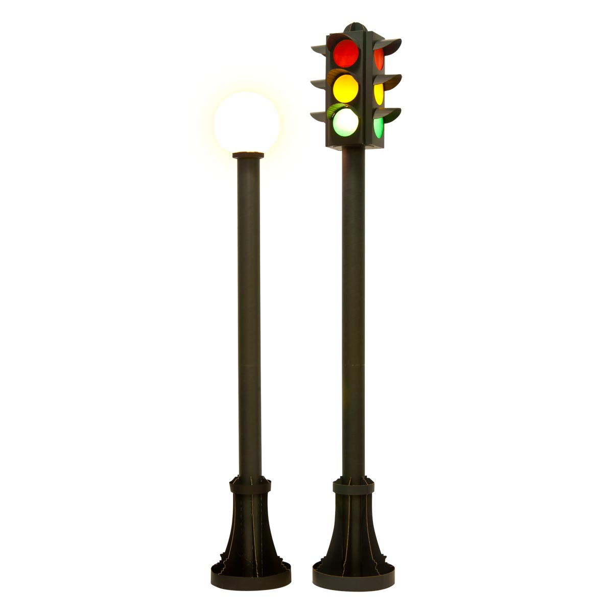 Neon Lights Are Bright Streetlight and Stoplight Kit