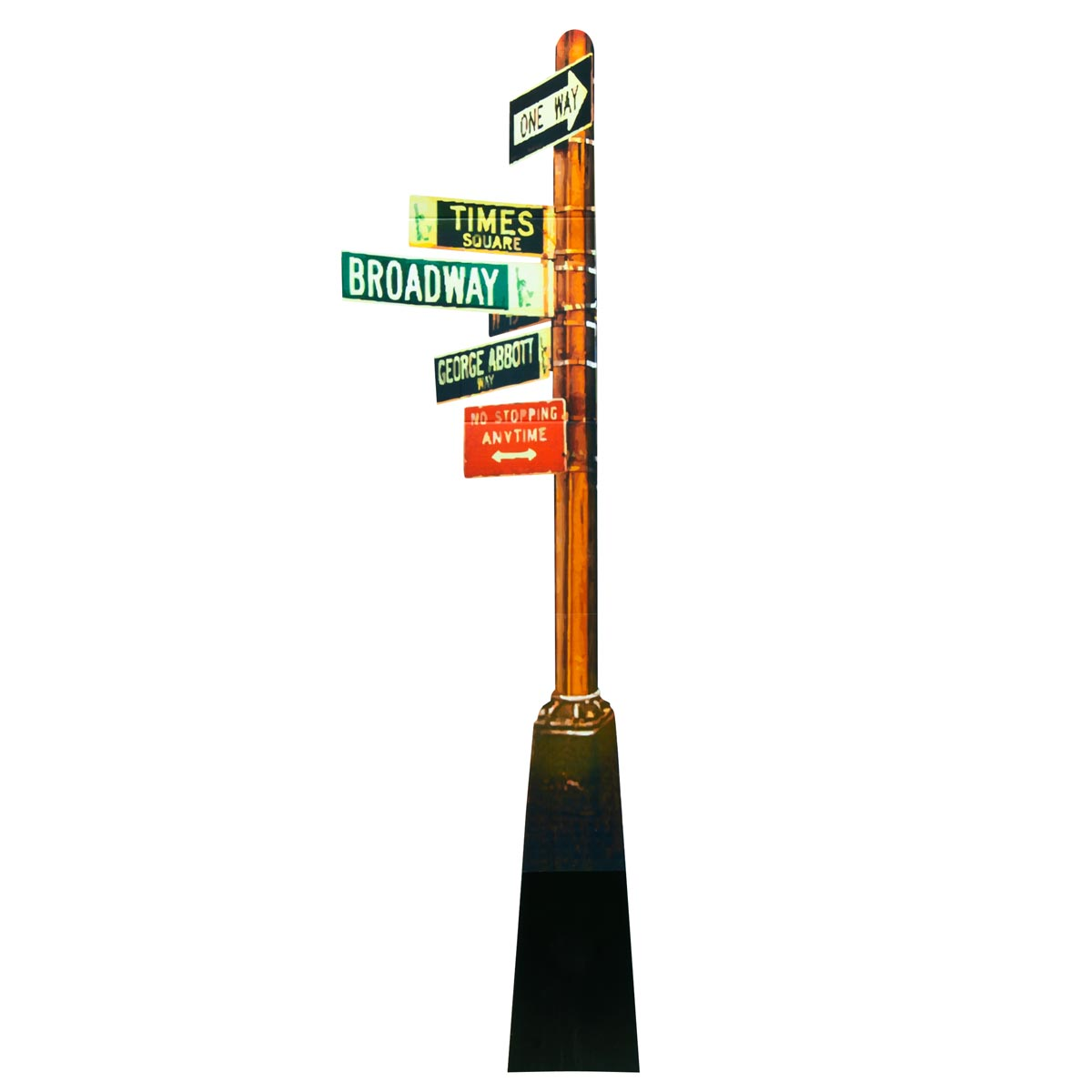 New York State of Mind Street Sign Kit