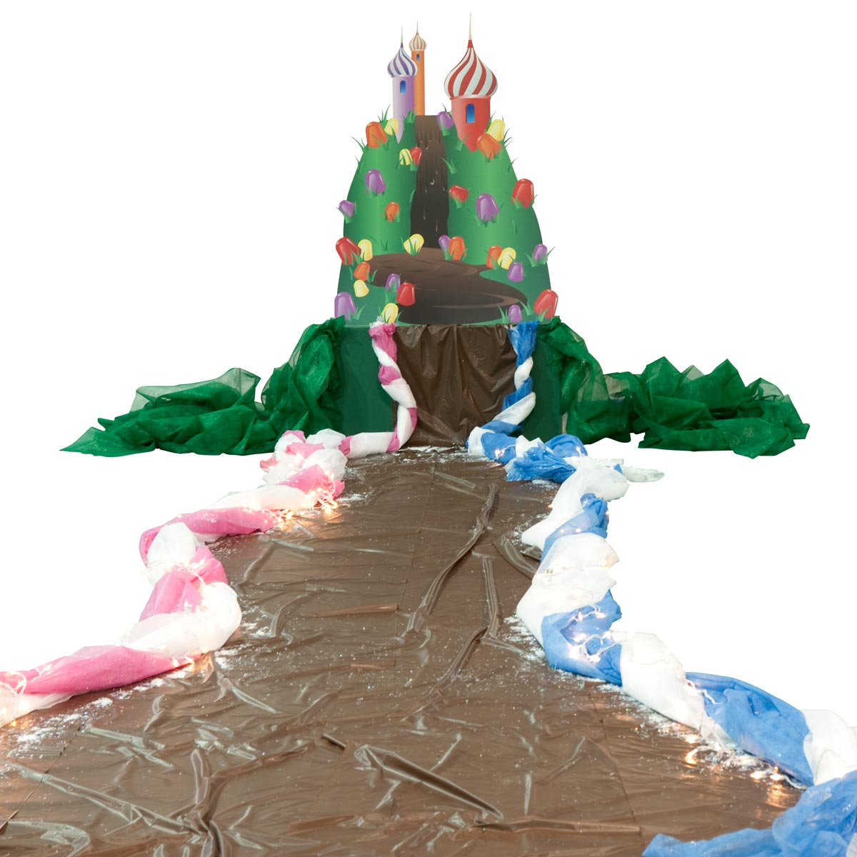 Sweet Spot Castle With Chocolate River