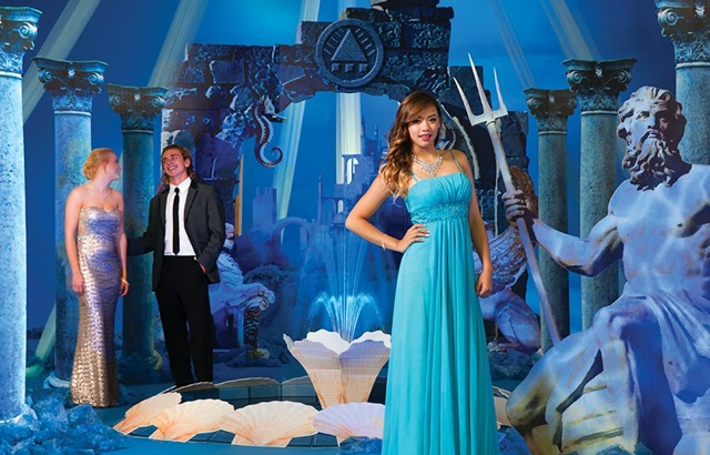 City Under the Sea Prom Theme