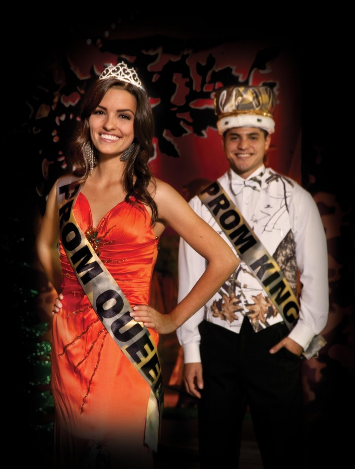 PROM KING PARTY BODY SASH PROM QUEEN