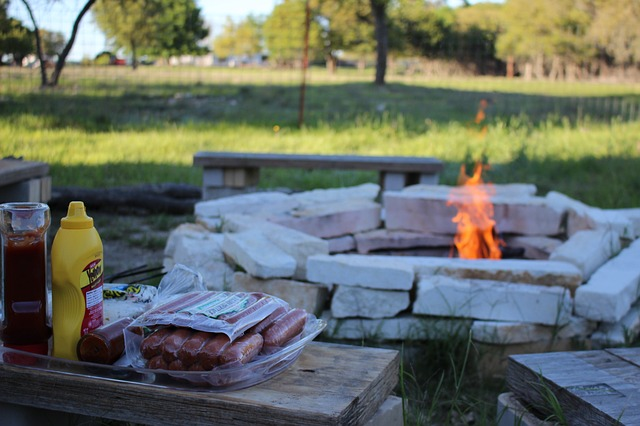 Summer Activities Bonfire