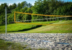 beach volleyball summer fundraising idea