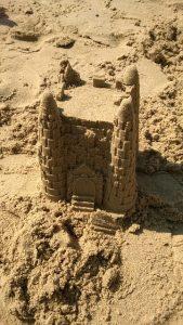 Summer Activities Sandcastle