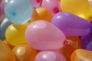 Summer Activities Water Balloons