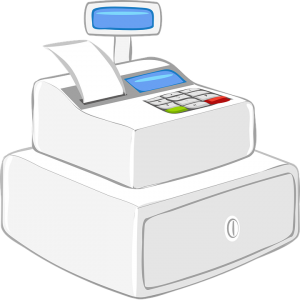 School Store Cash Register