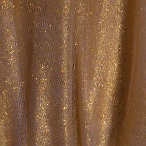 Gold-Glitter-Tulle