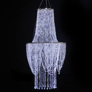 Diamond Drape Chandelier