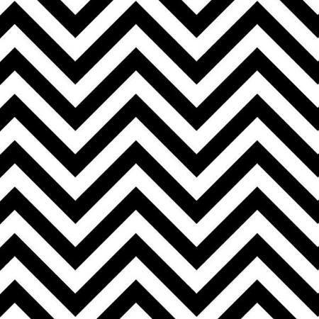 Black and White Zig Zag Decorating Paper
