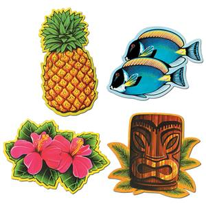 Luau Icons Cutouts