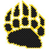 Bear Claw Design Fence Decorations