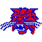Wildcat Design Fence Decoration