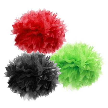 Fluffy Tissue Paper Decorations