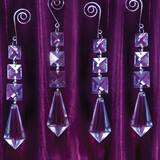 Crystal Dangle Decorations