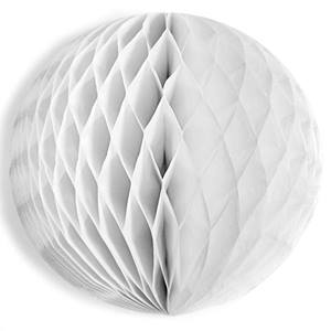 White Tissue Ball - 19""