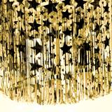 Metallic Star Curtain