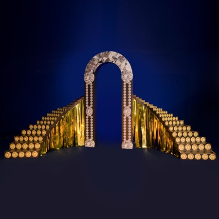It's Your Night to Shine Diamond Arch With Staircases Kit