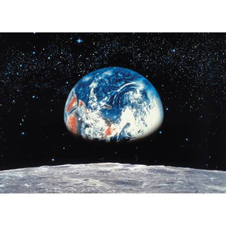 Earth Rise Photo Wall Mural