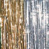Metallic Curtain - 3 ft. x 12 ft.