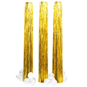 Golden Falls Glimmer Columns and Balloons Kit