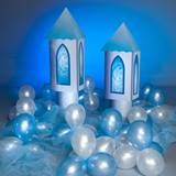 Entrancing Castle Turrets (set of 2), Balloons and Tulle Kit