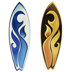 The Tide is High Surfboards Kit (set of 2)