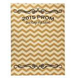 Personalized Golden Zig Zag Photo Op Kit