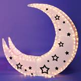 Lighted Wire Structures – Crescent Moon