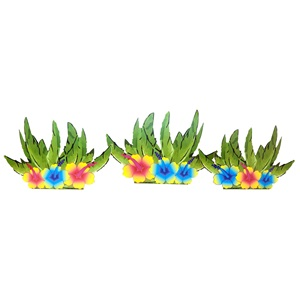 Tropical Oasis Plants Kit (set of 4)