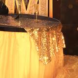 Sequined Square Table Cover - 58""