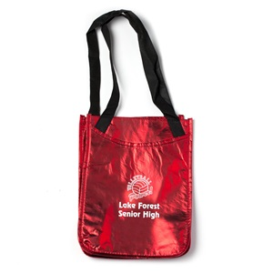 Reusable Metallic Tote Bag