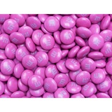 Dark Pink M&M's Milk Chocolate Candy - 5 lbs.