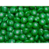 Dark Green M&M's Milk Chocolate Candy - 5 lbs.