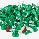 Hershey's Kisses Chocolates - Dark Green