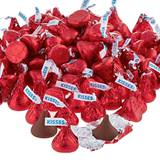 Hershey's Kisses Chocolates - Red