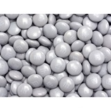 Silver M&M's Milk Chocolate Candy - 2 lbs.