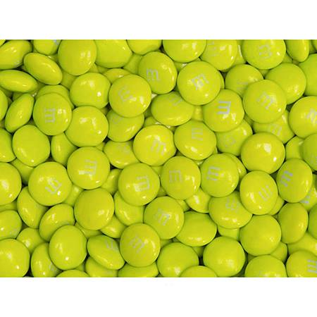 Electric Green M&M's Milk Chocolate Candy - 2 lbs.