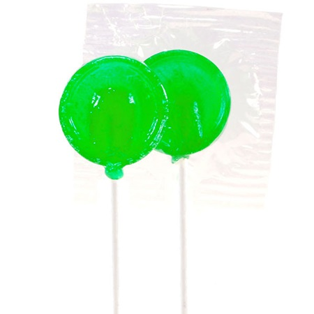 Green Lime Lollipops