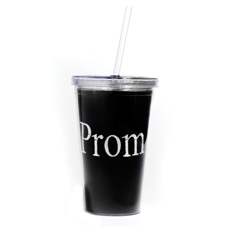 Tumbler With Embroidered Insert