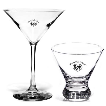 Big City Party Glass/Ronin Dessert Glass Set