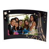 Midnight in Paris Curved Frame