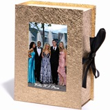 Gold Metallic Sparkle Photo Box