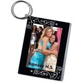 Streamers & Stars Acrylic Key Tag