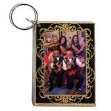 Golden Glitz Photo Key Chain - Blank